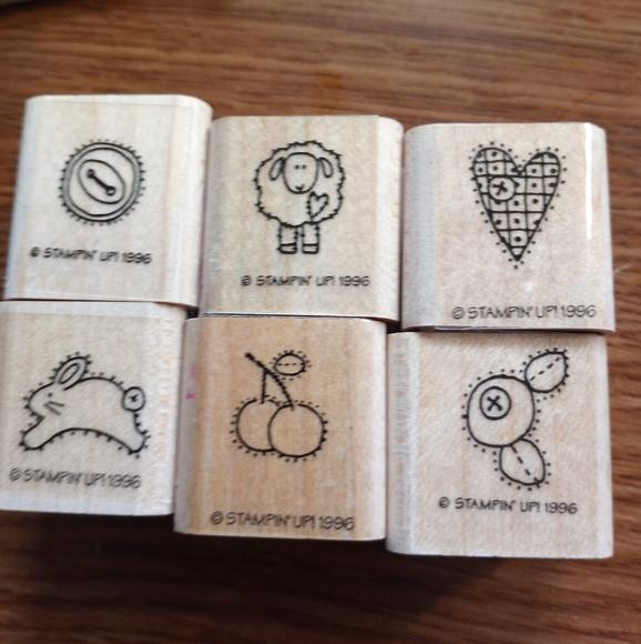Stampin up! Stamps set of 6
